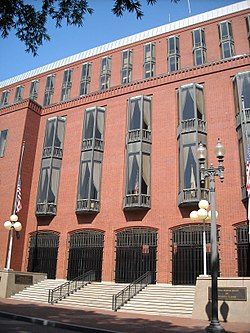 headquarters of the us court of federal claims on madison place in washington dc
