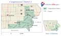 United States House of Representatives, Iowa District 2 map.png