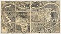 """Atlas mundial Cosmographiae Introductio, c. 1507. Primer registro del nombre """"América"""" para designar al continente"""