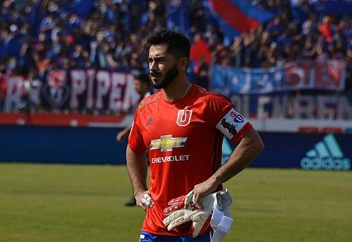 Universidad de Chile - Colo-Colo, 2018-04-15 - Johnny Herrera - 01