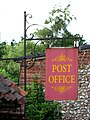 Unusual Post Office sign - geograph.org.uk - 908428.jpg