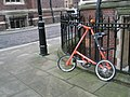 Unusual bike within Lincoln's Inn - geograph.org.uk - 1651738.jpg