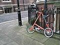 Unusual bike within Lincoln's Inn - geograph.org.uk - 1651738.jpg