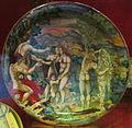 Urbino, seguace di francesco xanto avelli, giudizio di paride, 1540.JPG