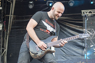 Peter Wichers founding members of Swedish melodic death metal band Soilwork