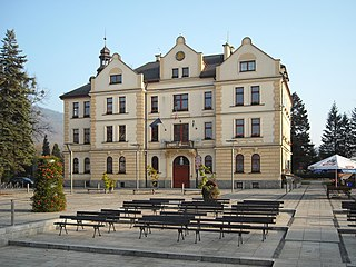 Ustroń Place in Silesian Voivodeship, Poland