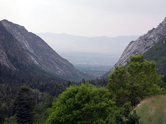 Little Cottonwood Canyon - Little Cottonwood Canyon, looking west.
