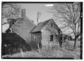 VIEW FROM SOUTHWEST - Salt Box House, State Routes 679 and 772, Modest Town, Accomack County, VA HABS VA,1-MOD,1-4.tif