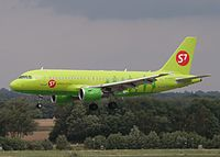 VP-BHG - A319 - S7 Airlines