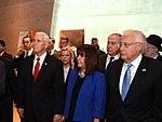 VP Mike Pence visits Yad Vashem Holocaust Museum (25989497068).jpg