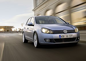 English: Volkswagen Golf Mk VI Dansk: Volkswag...