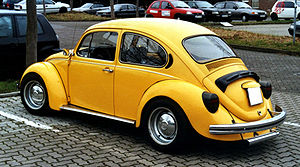 This image shows a Volkswagen Beetle in the st...