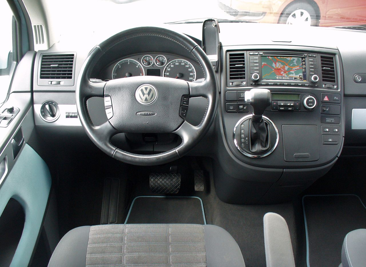 file vw t5 multivan atlantis 2 5 tdi interieur jpg wikimedia commons. Black Bedroom Furniture Sets. Home Design Ideas