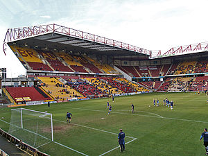 Bradford City stadium fire - The main stand following further redevelopment in 2001