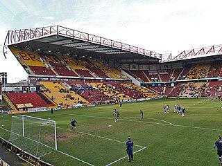 Football stadium in Bradford, home to Bradford City A.F.C.