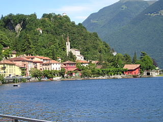 Valsolda Comune in Lombardy, Italy