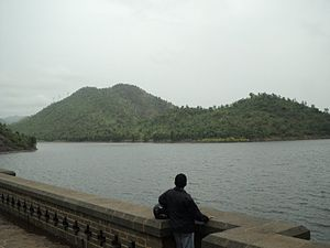 Vedavathi River - Vanivilas Dam across the river