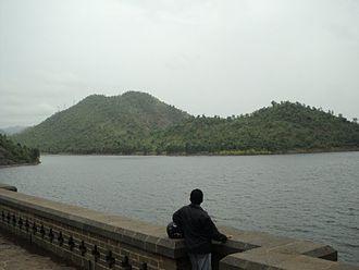 Vedavathi River - Vanivilas Dam across the river
