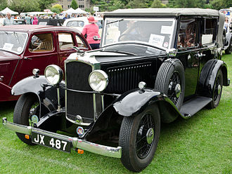 Vauxhall Cadet - Tickford all-weather saloon (cabriolet) 1933