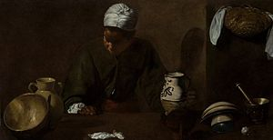 The Kitchen Maid - Image: Velazquez Cuinera Chicago