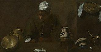The Kitchen Maid - Image: Velazquez Cuinera Chicago