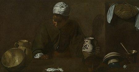the kitchen maid - wikipedia