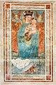 Velden Oberjeserz Filialkirche hl. Michael Vorhalle Wandbild hl. Madonna mit Kind 11052020 8952.jpg