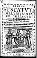 Vellia, Giovanni Domenico – Ordini et statuti dell'Università et collegio dei barbieri della presente città di Milano, 1618 – BEIC 11423316.jpg