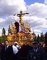 Venerable Hermandad del Santísimo Cristo de la Lanzada y María Santísima de la Caridad, Granda, Semana Santa 2009 (11).JPG