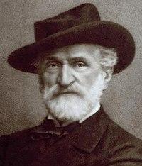 Giuseppe Verdi fotografato da Giacomo Brogi