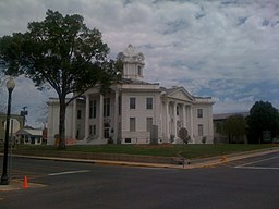 Vernon Parish Courthouse i Leesville.