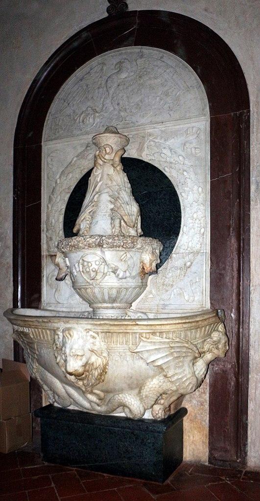 File verrocchio lavabo della sagrestia vecchia for Sagrestia vecchia