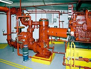 Fire pump Pumps as firefighting equipment