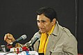 Veteran film star Dev Anand addressing a press conference at Black Box, Kala Academy on the occasion of 37thInternational Film Festival of India (IFFI-2006) in Panaji, Goa on December 2, 2006 (1).jpg