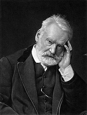 Photogravure - Photogravure of Victor Hugo, 1883