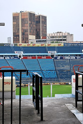 Estadio Azul - Image: View Inside Cr Azul DF
