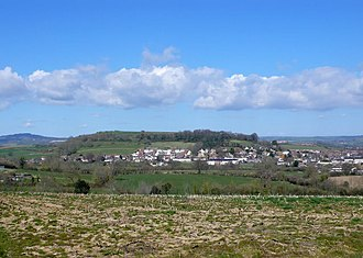 Allington, Dorset - Image: View from Broad Lane geograph.org.uk 1232386