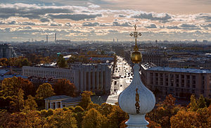 View from Smolny Cathedral Belltower in Saint Petersburg (02).jpg