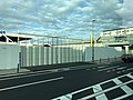 View from bus near construction site of Umekoji-Kyotonishi Station.jpg