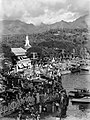 View looking down onto port of Papeete, Tahiti (AM 79900-1).jpg