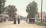 View of Main Street, Bethlehem, NH