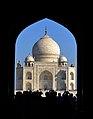 View of Taj Mahal from Darwaza-i rauza.jpg