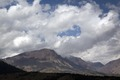 View of mountain range along Route 395 near Yosemite National Park in California LCCN2013633262.tif