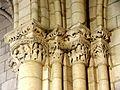 Villeneuve-sur-Verberie (60), église Saint-Barthélémy, chœur, 1ère travée, chapiteaux dans l'angle sud-est.jpg