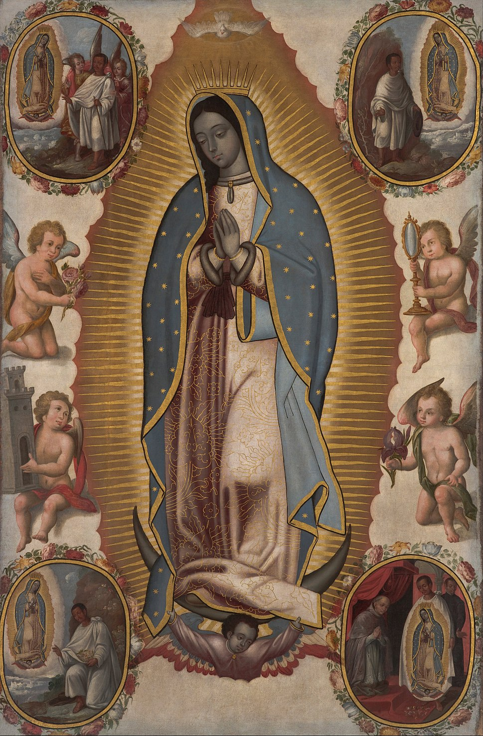 Virgin of Guadalupe - Google Art Project