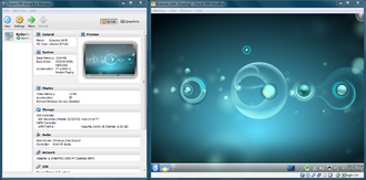 VirtualBox - Image: Virtual Box screenshot