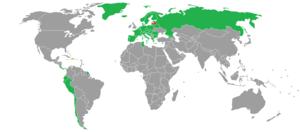 Visa requirements for Latvian non-citizens