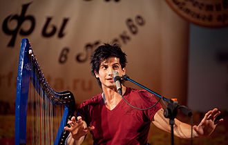 Athy (harpist) - Athy in concert, Moscow, 2011.