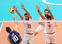 Volleyball match between national teams of Iran and Italy at the Olympic Games in 2016 - 3.jpg