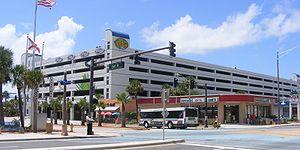Volusia County, Florida - The Volusia County Parking Garage in Daytona Beach